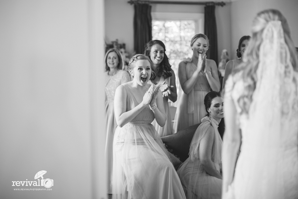 The bride + groom want to see your smiling faces (not your cell phones)! by Revival Photography www.revivalphotography.com