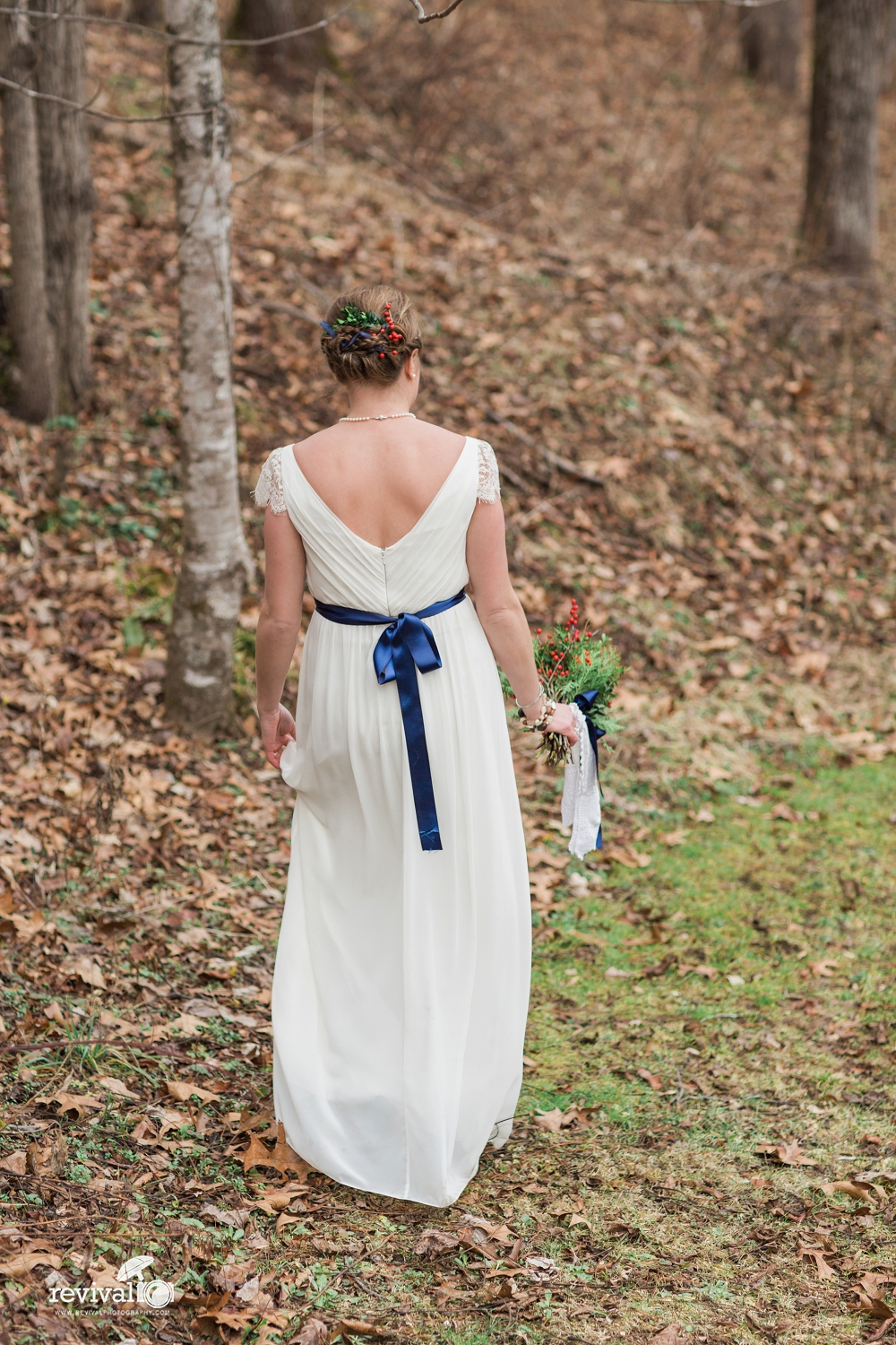 "Blue Sash for Wedding Dress - Wedding Traditions: ""5 Ways to do Something Blue"" on the Revival Photography Blog Photos by Revival Photography NC Wedding Photographers www.revivalphotography.com"