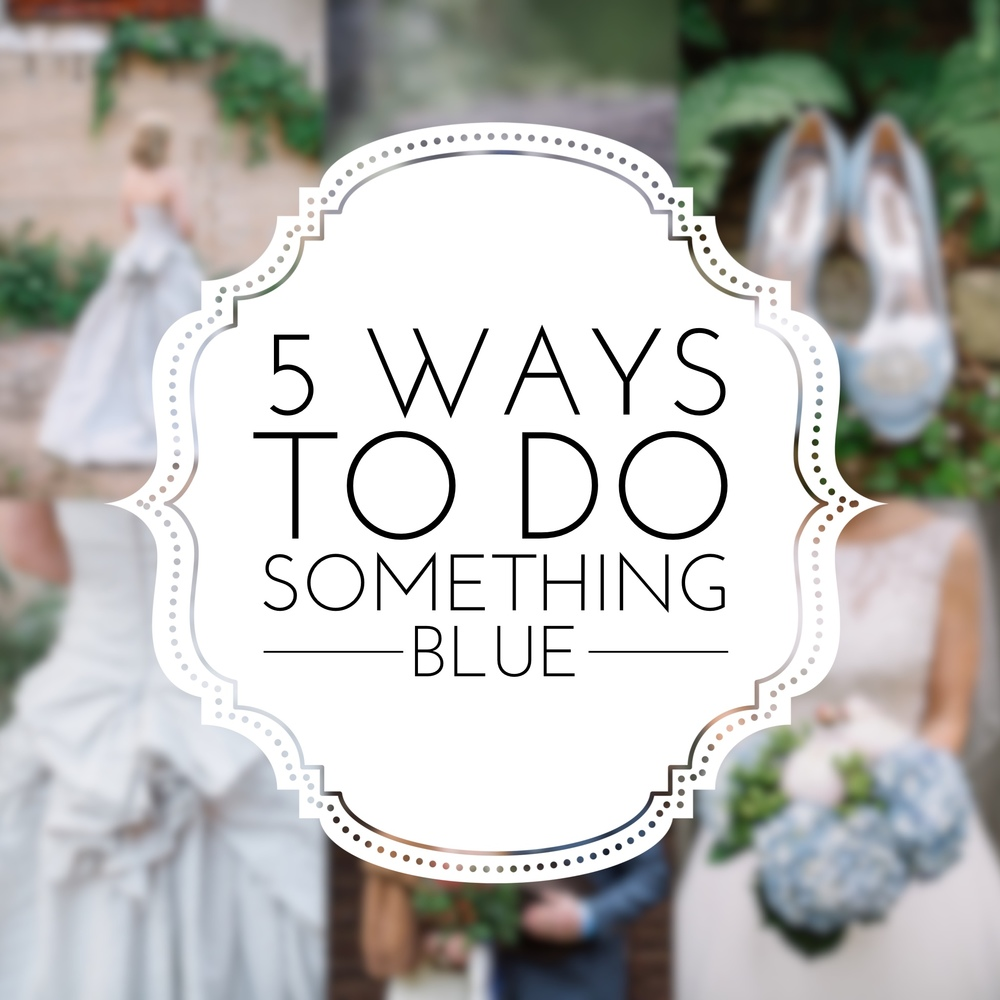 "Wedding Traditions: ""5 Ways to do Something Blue"" on the Revival Photography Blog Photos by Revival Photography NC Wedding Photographers www.revivalphotography.com"