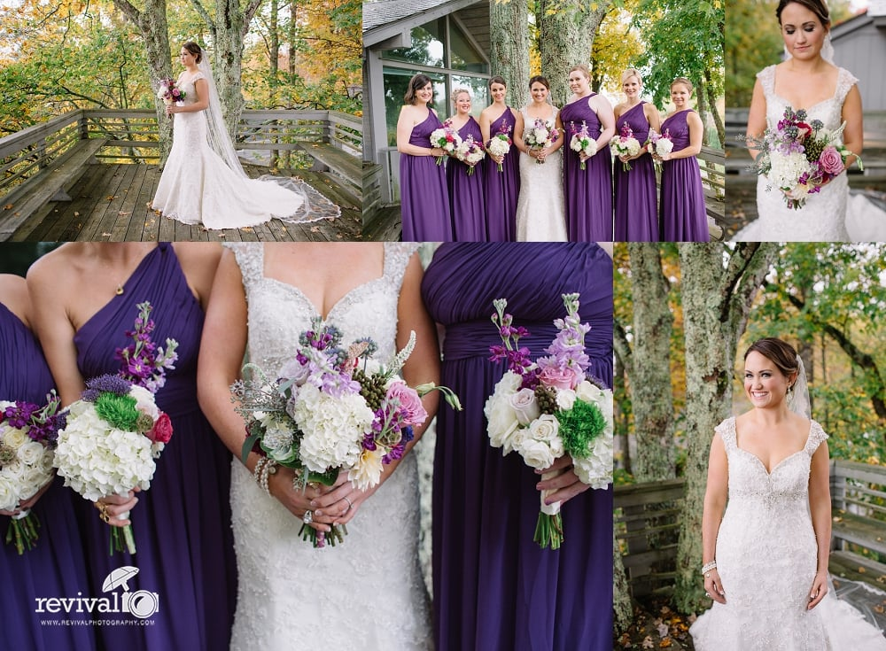 Courtney + John's Fall Mountain Destination Wedding in Blowing Rock, NC by Revival Photography NC Destination Wedding Photographers www.revivalphotography.com
