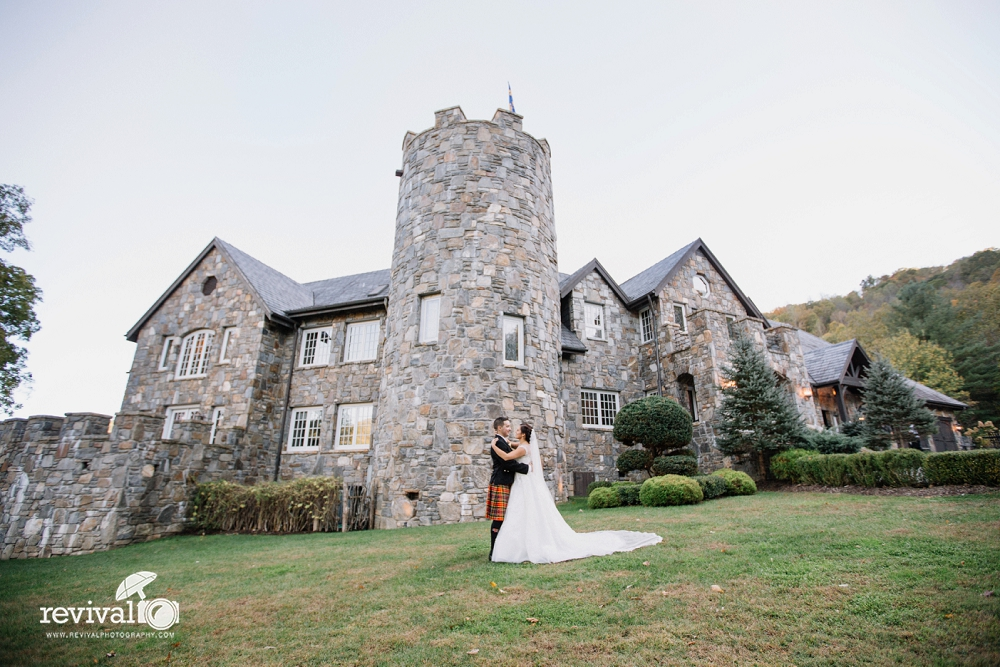 Stephanie + John's Fairytale Destination Wedding at Castle Ladyhawke, Tuckasegee, NC Photography by Revival Photography www.revivalphotography.com
