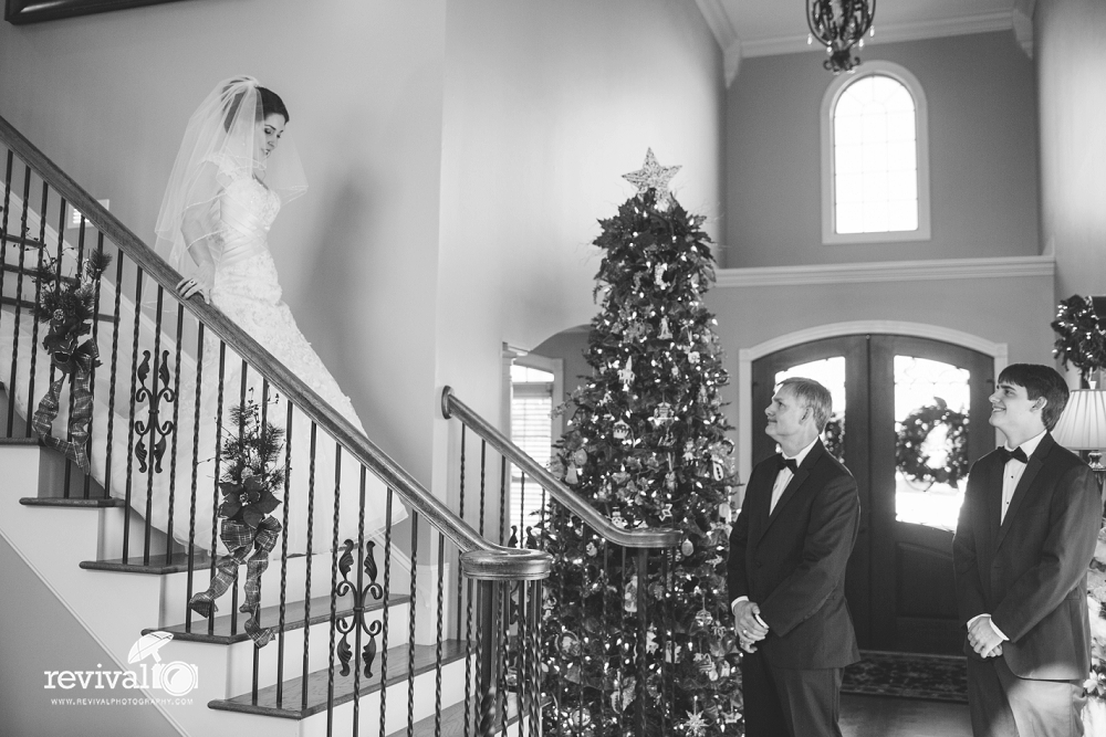 Saryn + Edward's Winter Wedding Day, Hickory, NC Photography by Revival Photography www.revivalphotography.com