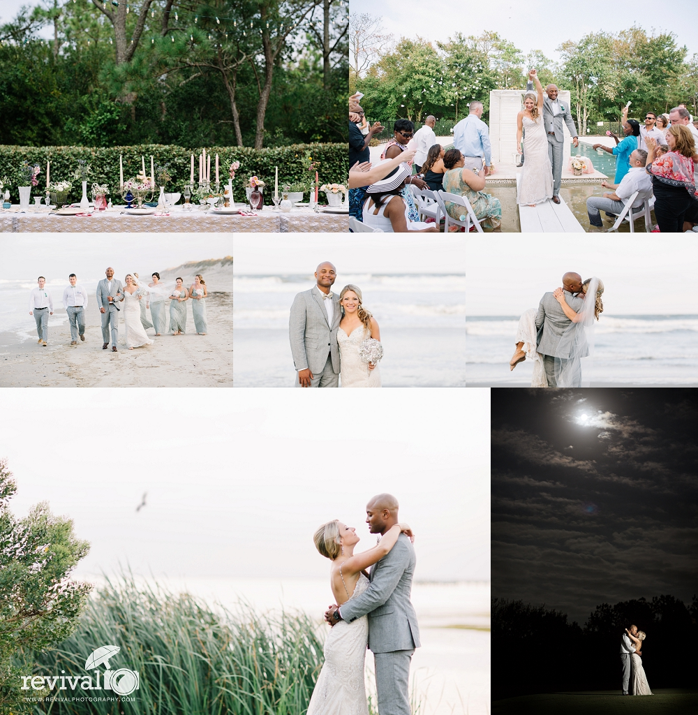Preview from Vanessa + Patrick's OBX Wedding by Revival Photography