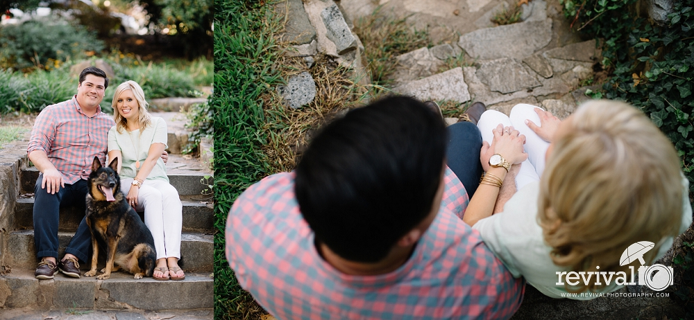 Shannon + John: An Uptown Charlotte Engagement Session by Revival Photography NC Wedding Photographers Charlotte Engagement Photos