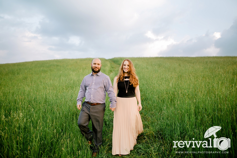 Brittany + Brian: Blue Ridge Parkway Engagement Session NC Wedding Photographer Revival Photography www.revivalphotography.com