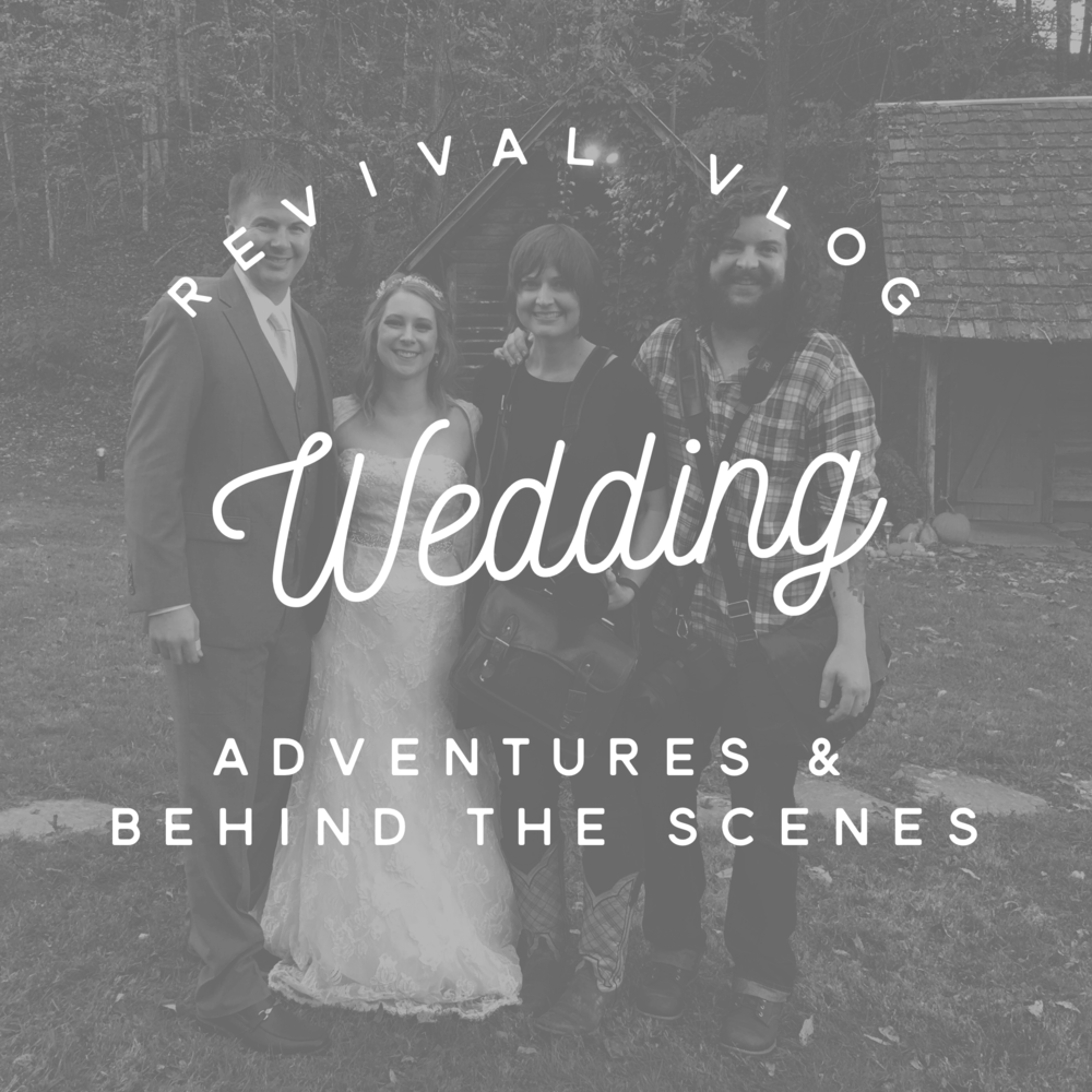 Revival Vlog: Fall Wedding Season Adventures www.revivalphotography.com