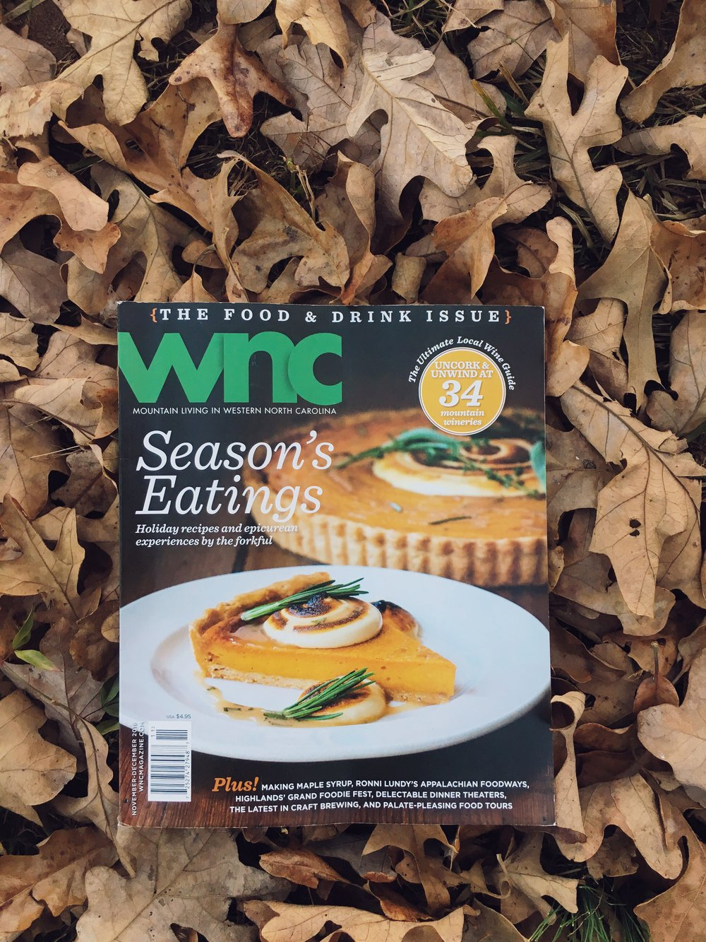 Revival Photography Featured in WNC Magazine November/December 2016 Issue www.revivalphotography.com