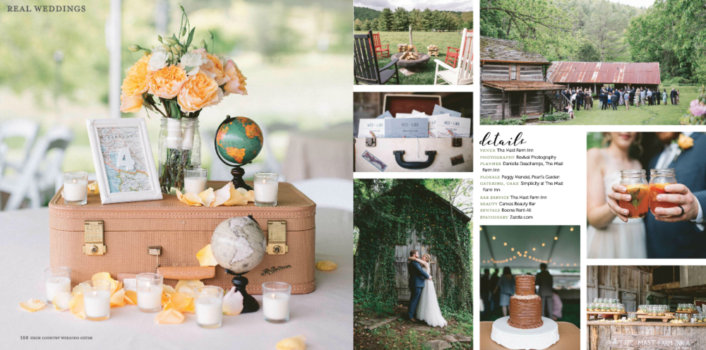 Revival Photography Featured in High Country Wedding Guide 2017 NC Wedding Photographers Revival Photography www.revivalphotography.com