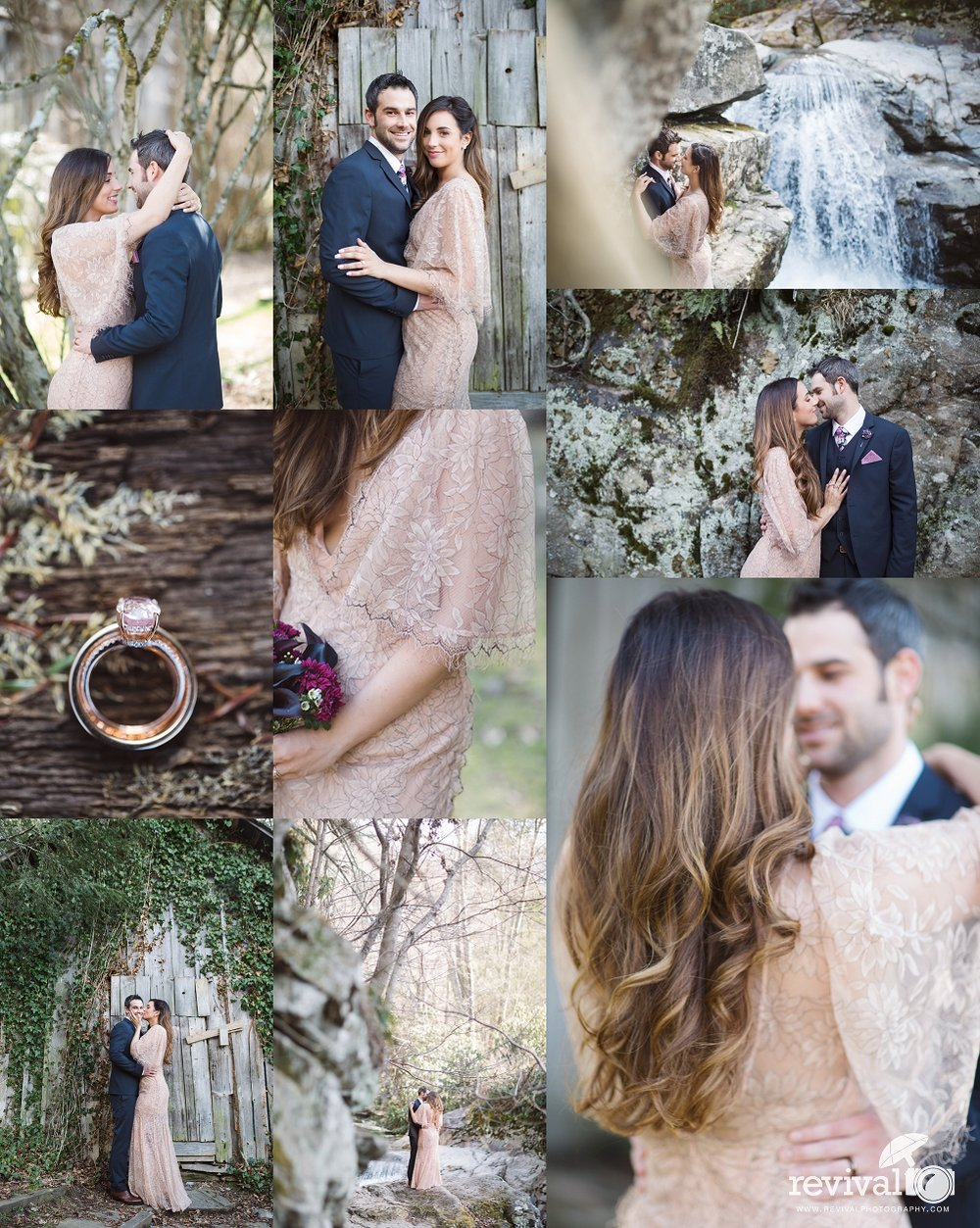 Whitney + Matthew's Mast Farm Inn Elopement (VIDEO + BEHIND THE SCENES VLOG!) Photos and Video by Revival Photography www.revivalphotography.com
