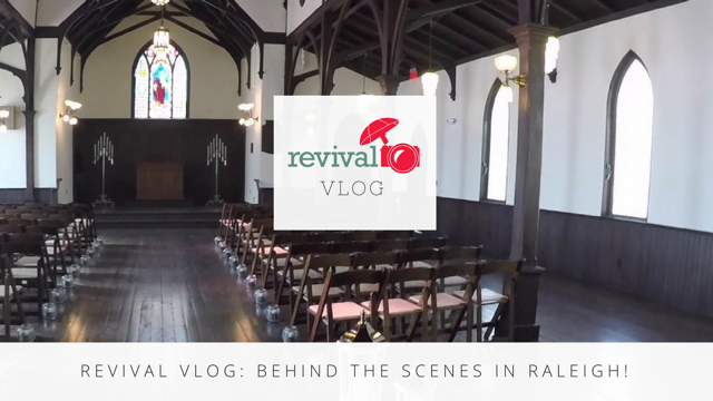 Revival Vlog: Behind the Scenes in Raleigh! Photography by Revival Photography Behind the Scenes NC Wedding Photographers www.revivalphotography.com