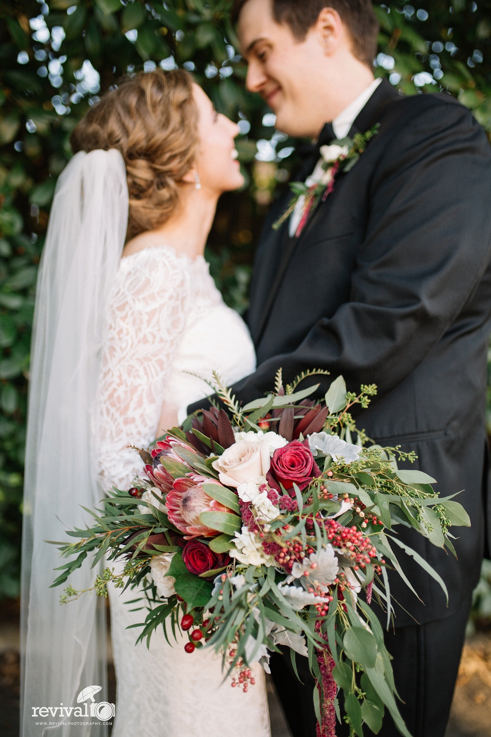 Kendra + Jacob's Classic Vintage Industrial Wedding in Hickory, NC ...
