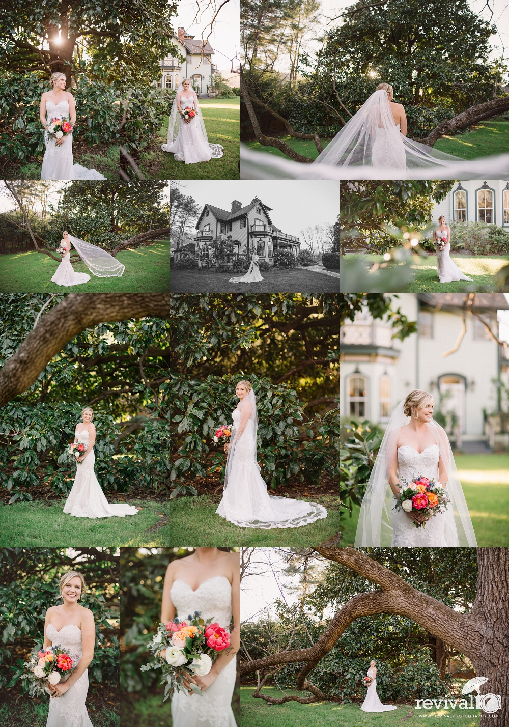 Meghan's Bridal Session at Mountain Magnola Inn, Hot Springs NC by Revival Photography