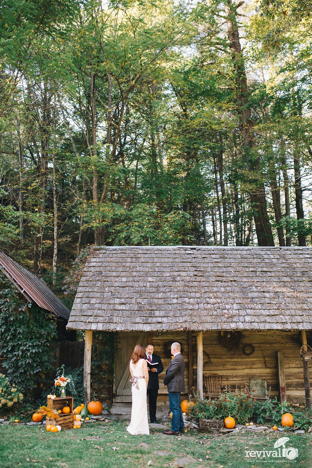 Alisa and Ben's Fall Destination Elopement at The Mast Farm Inn by Revival Photography www.revivalphotography.com