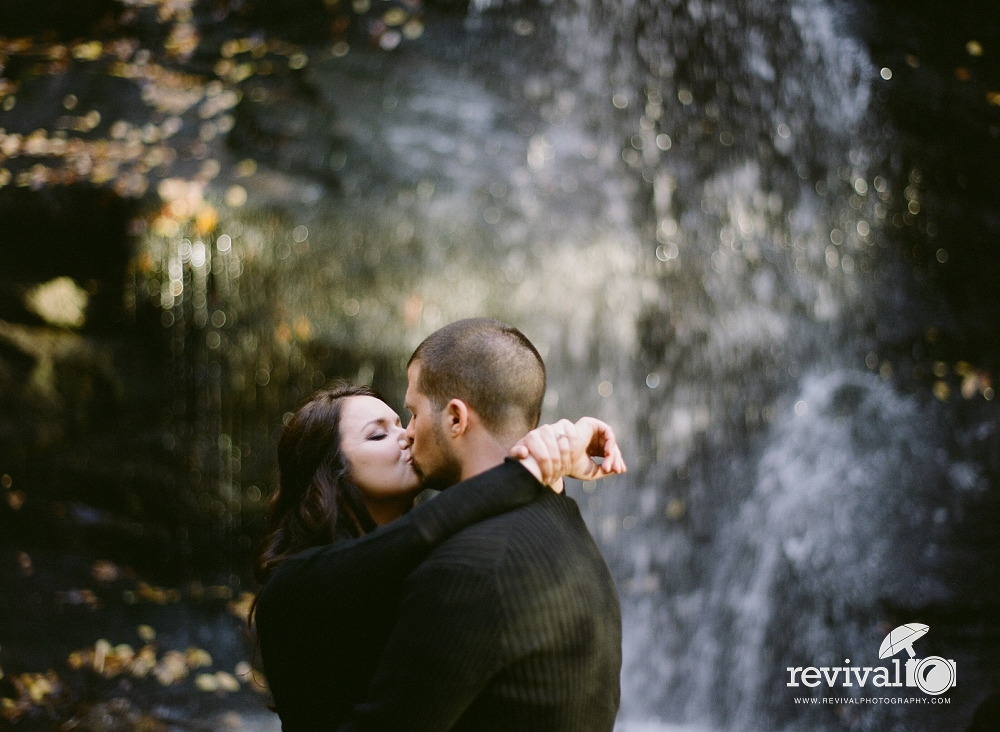 Lindsey + Michael's Smoky Mountain Engagement Session by NC Wedding Photographers Jason and Heather Barr of Revival Photography www.revivalphotography.com
