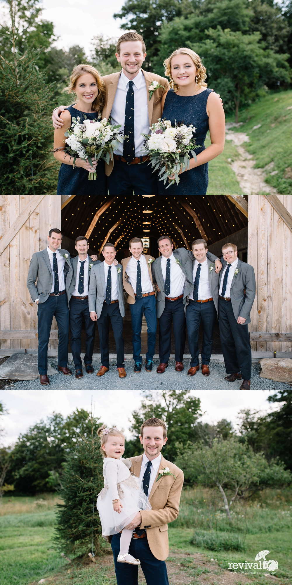 Chelsea + Herb's Overlook Barn Mountain Wedding in Banner Elk, North Carolina www.revivalphotography.com