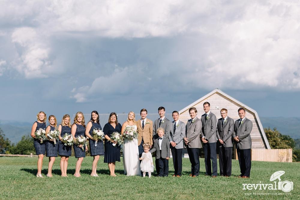 Chelsea + Herb's Overlook Barn Mountain Wedding in Banner Elk, North Carolina www.revivalphotography.com