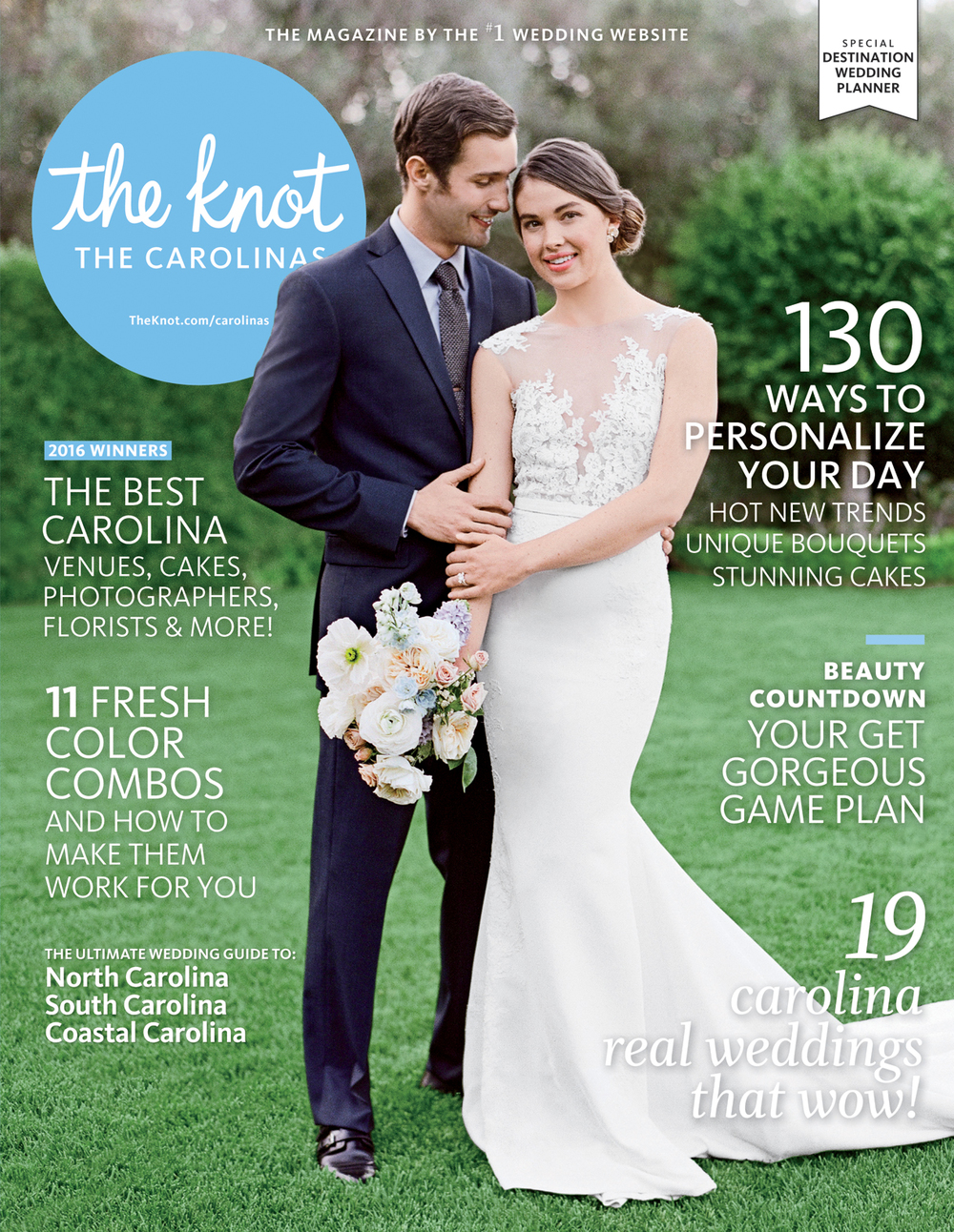 Leatherwood Mountain Wedding Featured in The Knot Magazine by Revival Photography