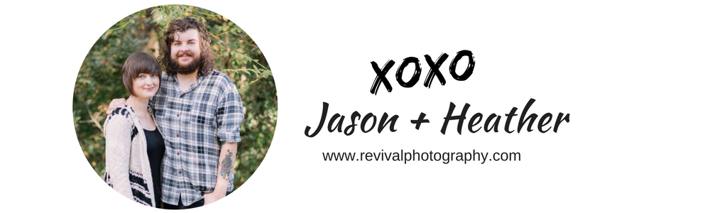 Jason and Heather of Revival Photography www.revivalphotography.com