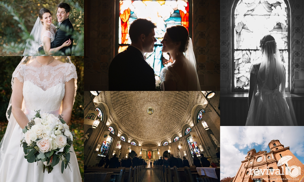 Elizabeth + Brian's Asheville Destination Wedding at Basilica of Saint Lawrence by Revival Photography www.revivalphotography.com