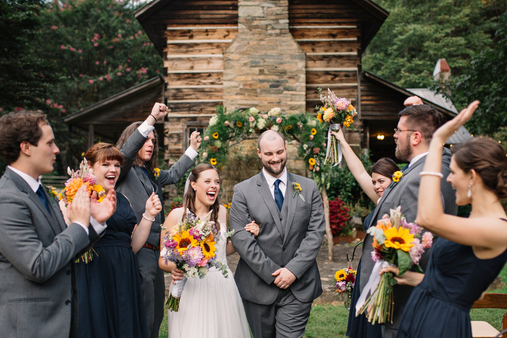 Katherine and Ian's Leatherwood Wedding