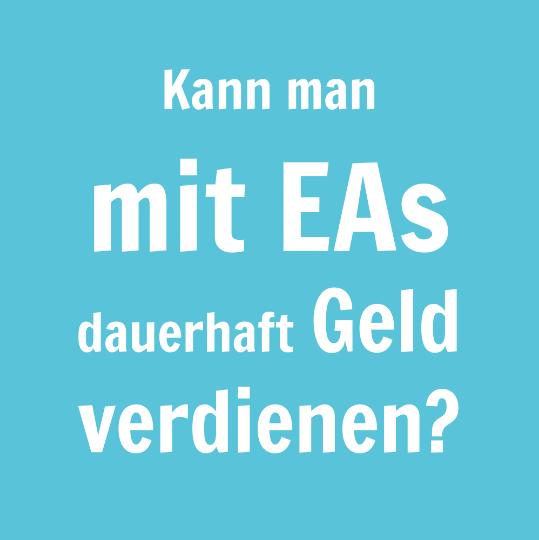 Kann man mit EAs dauerhaft Geld verdienen?