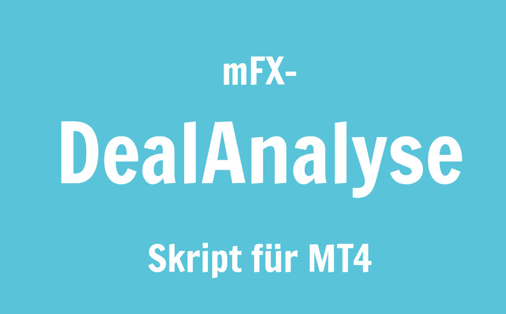 Skript zum Datenexport aus MT4 im deutschen Zahlenformat