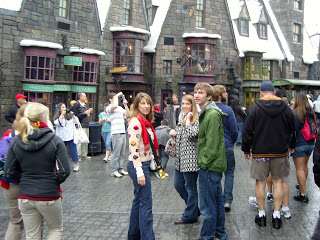 Hogsmeade! right in the middle of central Florida, USA!