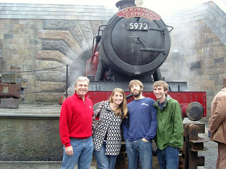 Here we are 6 months ago 12-19-10 at The Hogwarts Express!