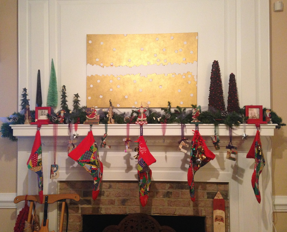 Christmas 2014 at the Petersons • B E L I E V E