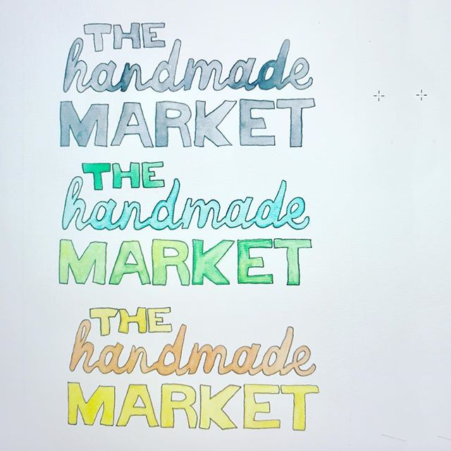 Sometimes my two jobs collide and it's good. · · #makeeverydaycount #watercolor #theplanning #thehandmademarket #handmaiden #freshlook #ncartist #itsbydesign #arteveryday #createeveryday