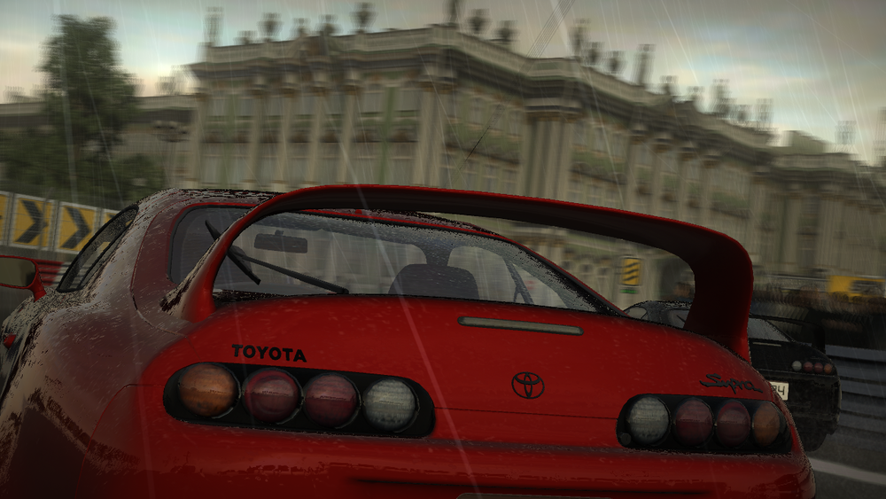 Still from  Project Gotham Racing 4,  developed by Bizarre Creations for the Xbox 360 and published by Microsoft Game Studios