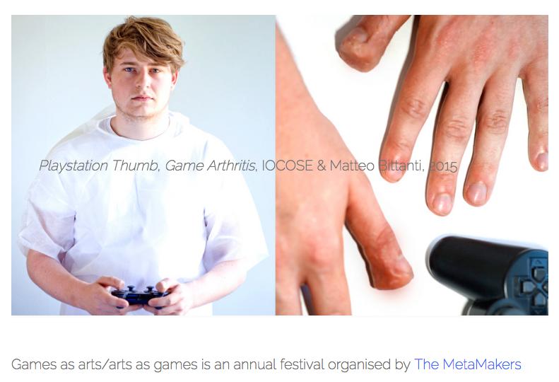 GAME ARTHRITIS