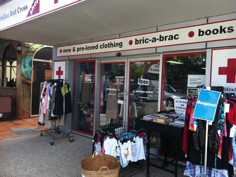 Red Cross Op Shop, Sherwood