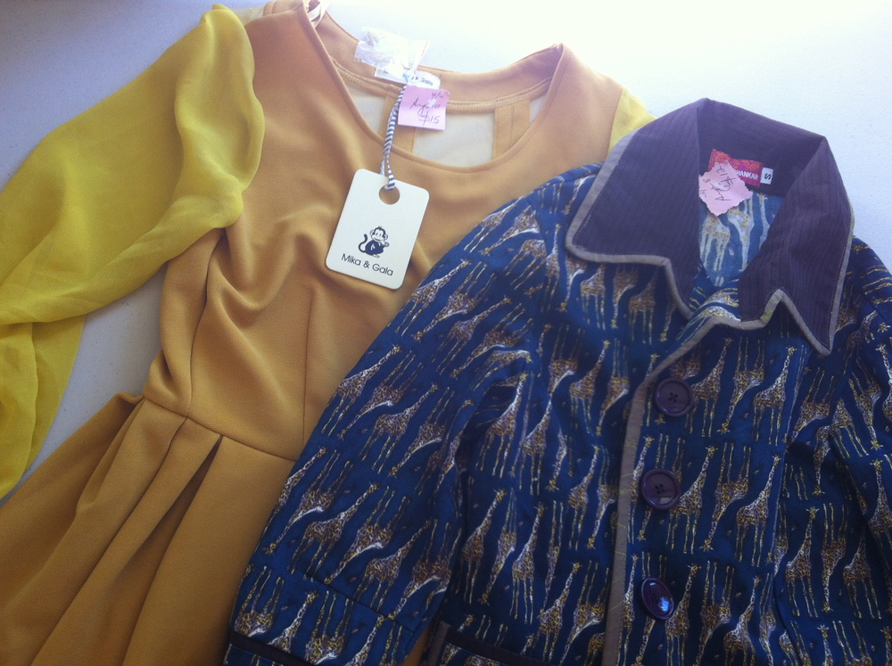 Great finds - Mika & Gala dress & Boom Shankar jacket