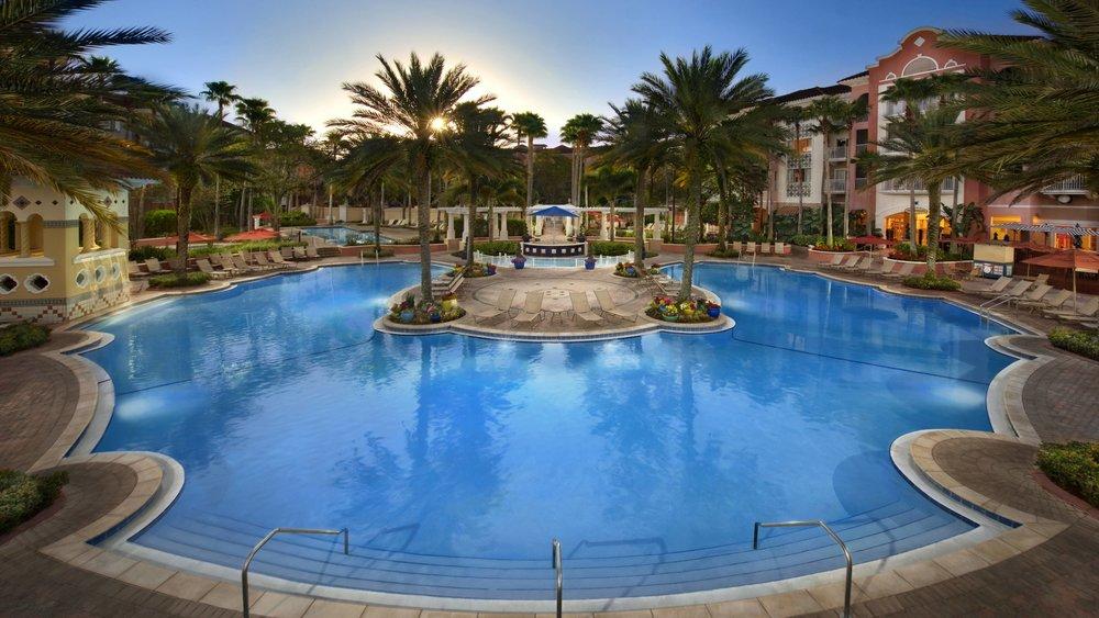 Marriott Grande Vista- Orlando, FL   Pool Painting and Refinishing