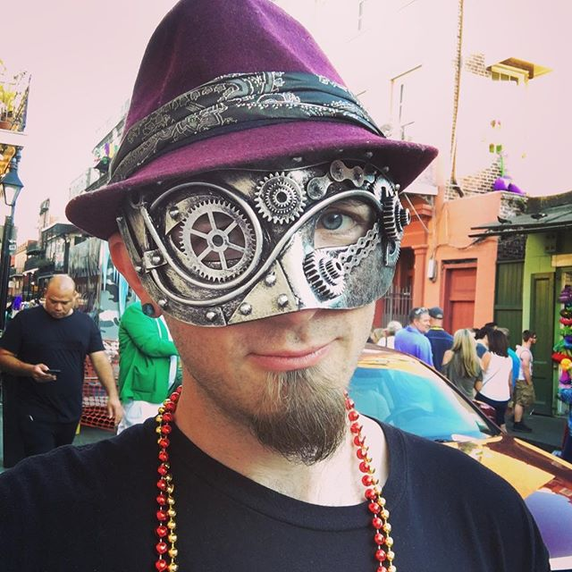 Steam-Gras Mardi-punk #neworleansisawesome it turns out!
