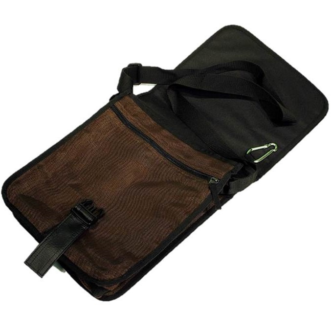 Opening of Brown Handmade, Eco Friendly, Fair Trade, Upcycled, Cambodian Messenger Bag
