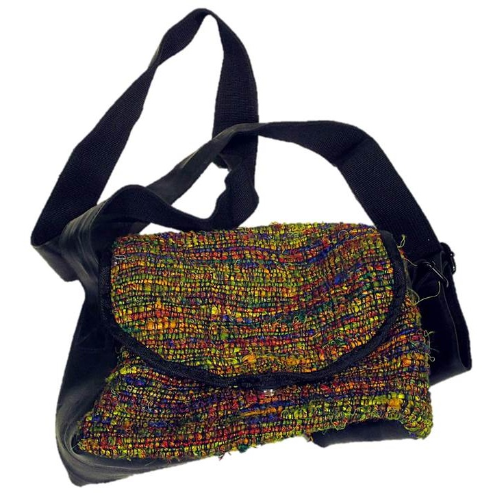 Handmade, Eco Friendly, Fair Trade, Upcycled, Nepalese Small Purse B