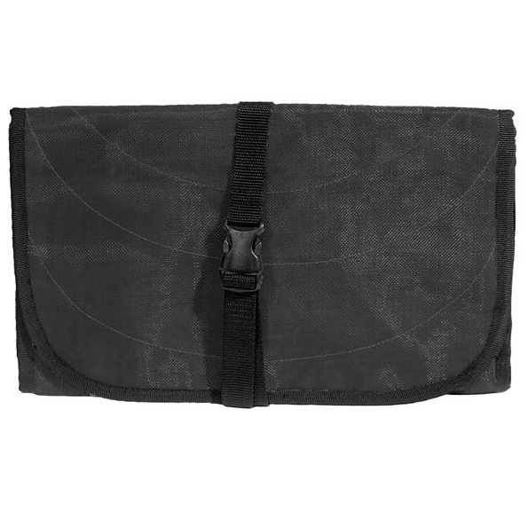 Black Handmade, Eco Friendly, Fair Trade, Upcycled, Cambodian Toiletry Bag