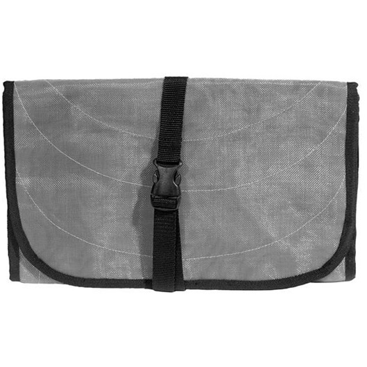 Grey Handmade, Eco Friendly, Fair Trade, Upcycled, Cambodian Toiletry Bag