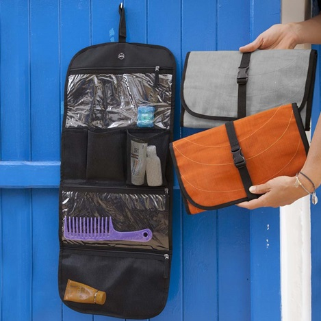 Open Handmade, Eco Friendly, Fair Trade, Upcycled, Cambodian Toiletry Bags
