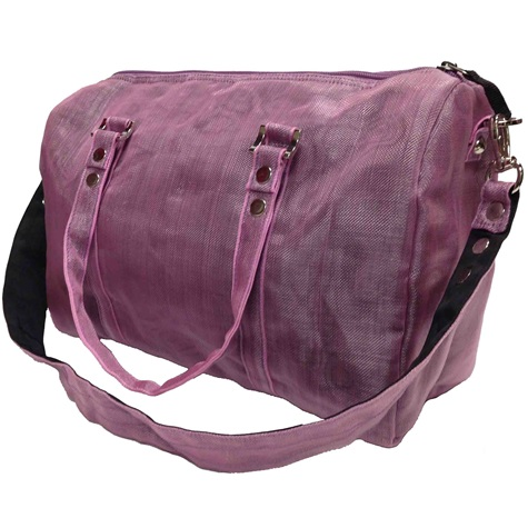 Purple Handmade, Eco Friendly, Fair Trade, Upcycled, Cambodian Large Purse