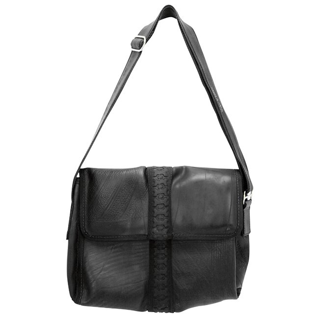 Upcycled Tires, Messenger Bag, Handbag, Purse, Handmade, Eco Friendly, Fair Trade