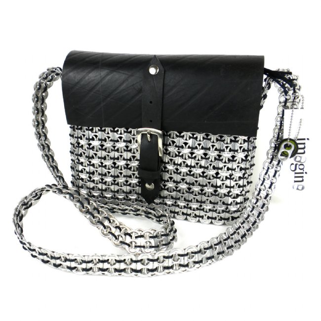 Medium Purse A, Fair Trade Mexico, Handbags, Bags, Eco Friendly, Upcycled