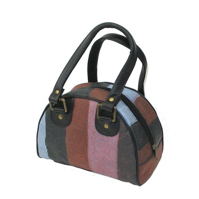 Upcycled Plastic, Medium Purse, Handbag, Handmade, Eco Friendly, Fair Trade