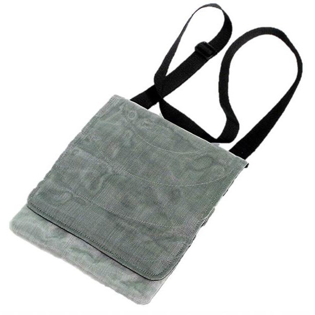 Tablet Bags, Upcycled Fish & Construction Netting, Handmade, Eco Friendly, Fair Trade