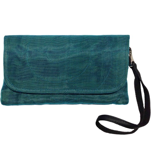 Upcycled Fish & Construction Netting, Wristlets B, Handbag, Handmade, Eco Friendly, Fair Trade