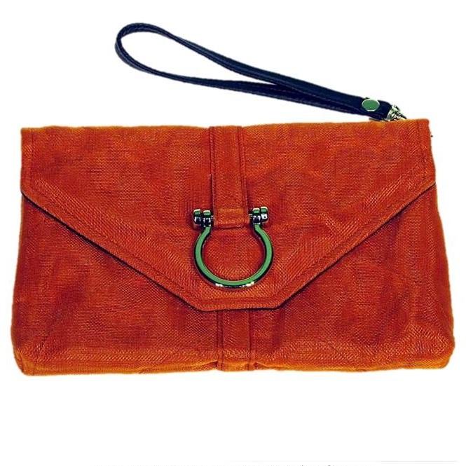 Upcycled Fish & Construction Netting, Wristlets, Handbag, Handmade, Eco Friendly, Fair Trade