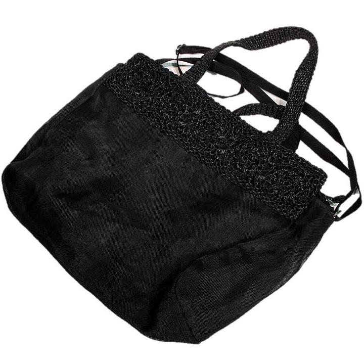 Upcycled Fish & Construction Netting, Large Bag, Purse, Handbag, Handmade, Eco Friendly, Fair Trade