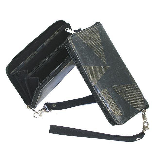 Upcycled Plastic, Wristlet, Handbag, Handmade, Eco Friendly, Fair Trade